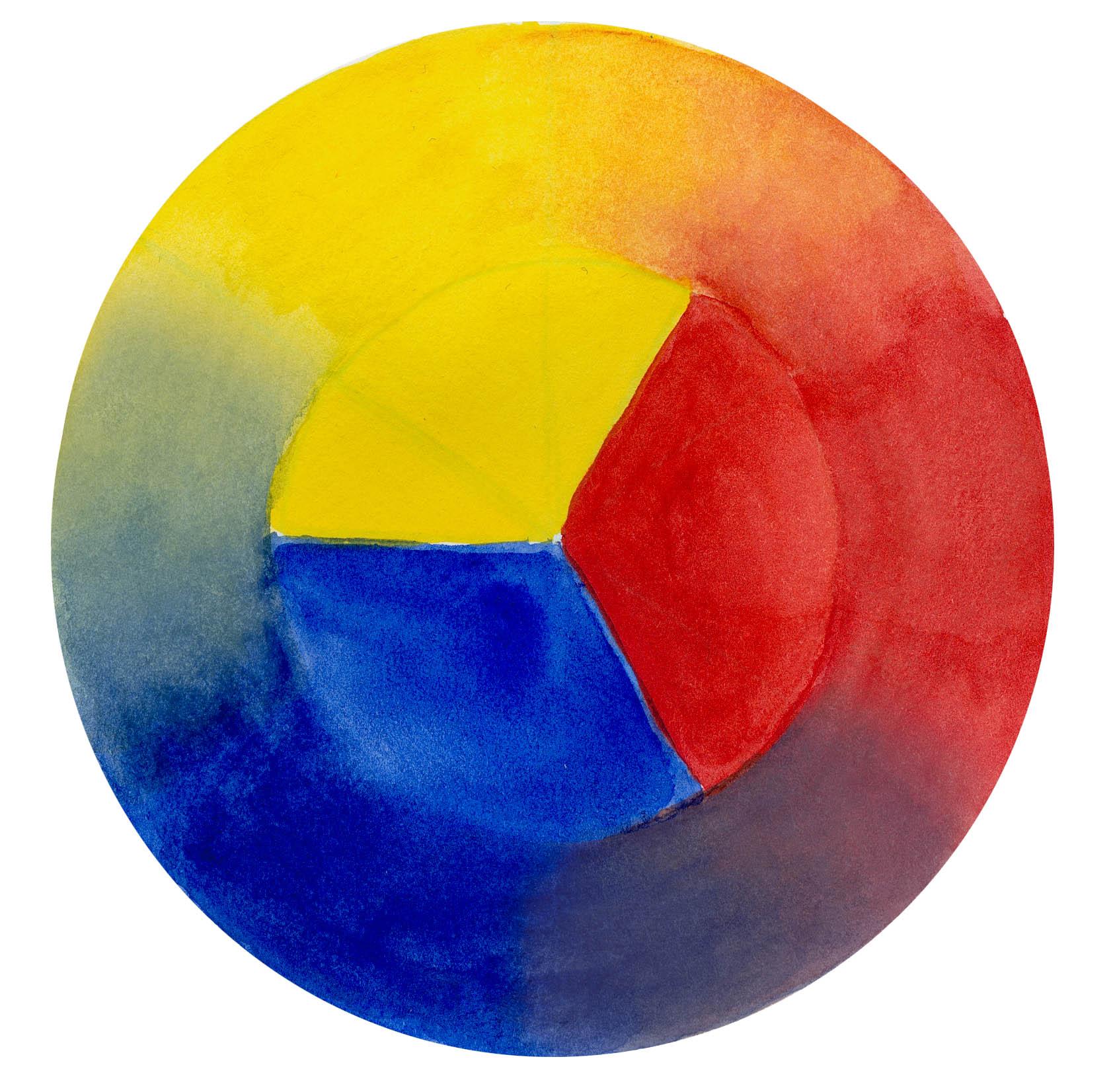 red yellow blue color wheel john muir laws. Black Bedroom Furniture Sets. Home Design Ideas