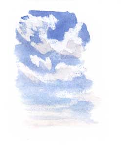Blue Skies Painting San Francisco
